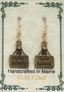 Gone Fishin' Earrings - Lively Accents