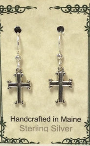 Sterling Silver Cross - Lively Accents