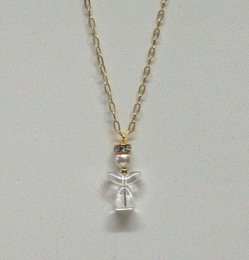 Medium Angel Necklaces - Clear