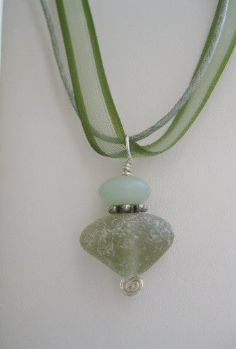 Organza - Sea Glass -Green
