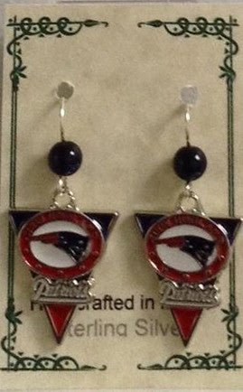 Patriots Earrings - Lively Accents
