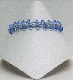 Top Drilled Swarovski Crystal Bracelet - Lively Accents