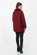 MAROON-FULL SLEEVE-CARDIGAN