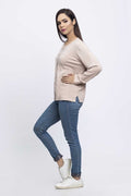 IVORY-FULL SLEEVES-CARDIGAN