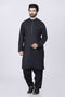 BLACK-BLENDED-KURTA SHALWAR