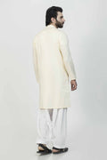 Cream-Cotton-Kurta