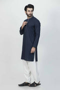 I-N-Blue-Cotton-Kurta