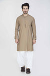 G-Brown-Blended-Kurta