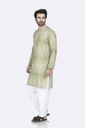 Green-Blended-Kurta