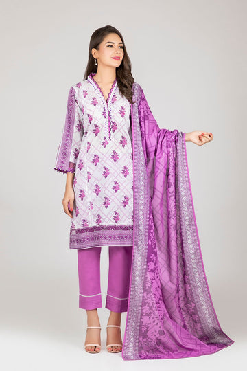 Bonanza Satrangi ASO213P31B L Purple Summer Collection