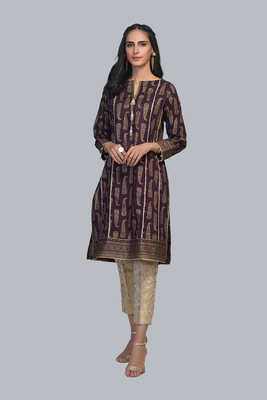 Bonanza Satrangi ASR211P06-D-PURPLE Eid Collection
