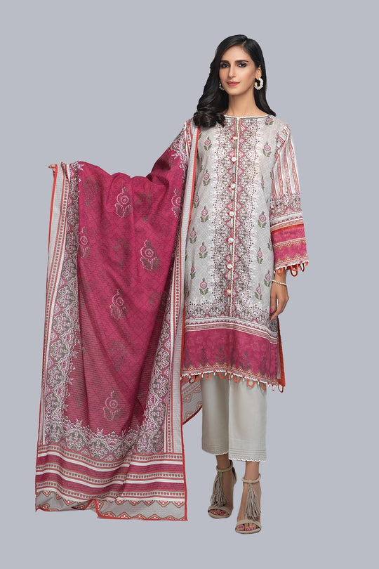 Bonanza Satrangi Asr213p64 Silver Eid Collection