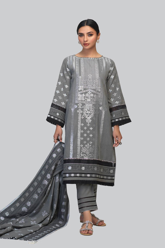 Bonanza Satrangi ASR213P95-D-GRAY Eid Collection