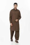 S-Brown-Blended-Shalwar Suit