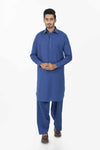 Ink-Blue-Blended-Shalwar Suit