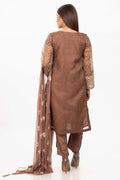Brown-Organza-Suit
