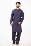 B-PURPLE-VISCOSE-KURTA SHALWAR