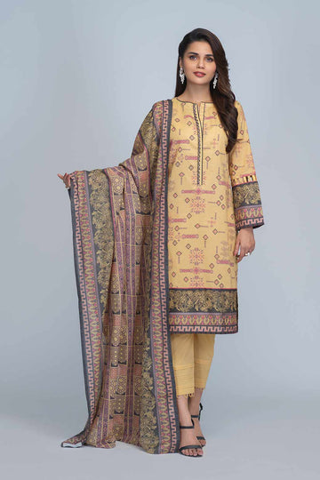 Bonanza Satrangi RSO213P18 D Beige Summer Collection