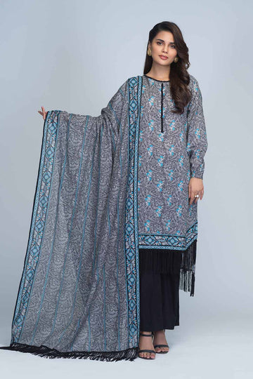 Bonanza Satrangi RSO213P47A  Blue Summer Collection