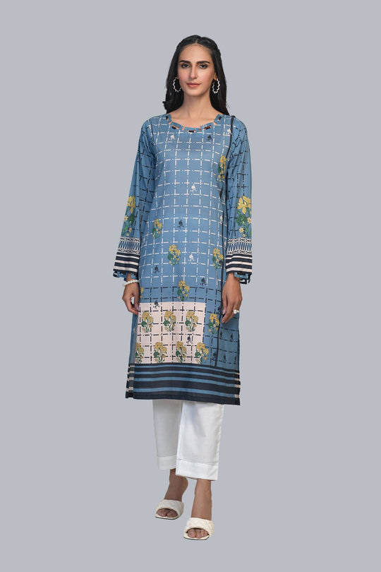Bonanza Satrangi Rsr211p13 Blue Eid Collection