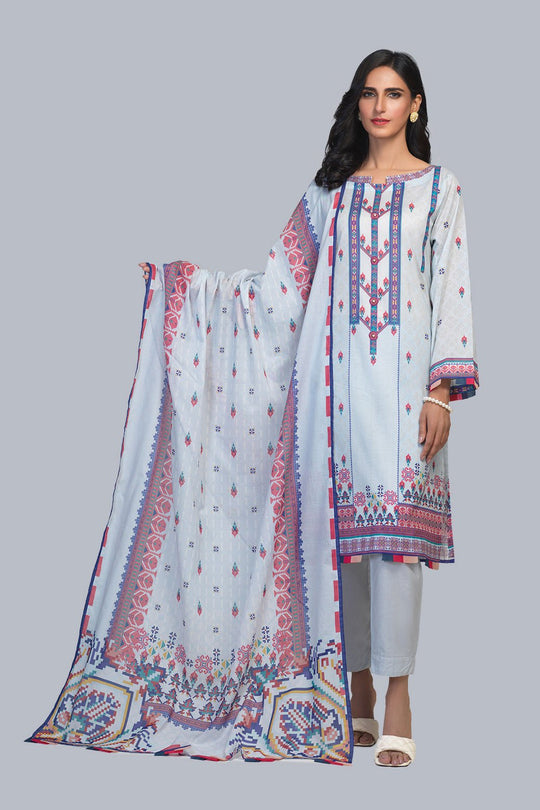 Bonanza Satrangi RSR213P03-BLUE Eid Collection