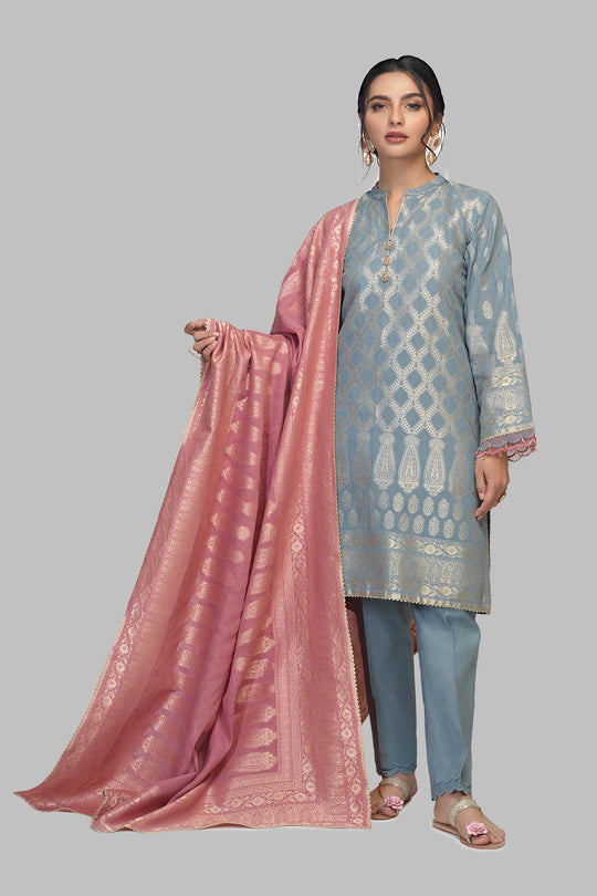 Bonanza Satrangi Ssr213p56 Blue Eid Collection