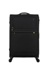 4W Trolley Large 78 Cm/30 - Black