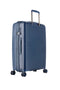 4W Trolley Case M 67 Cm - Blue