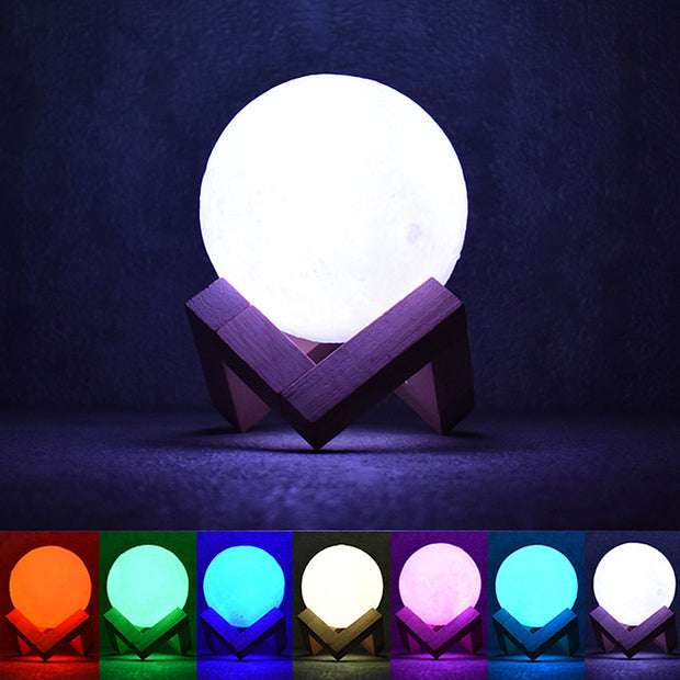 3D Magical Moon Light-Desk Solutions