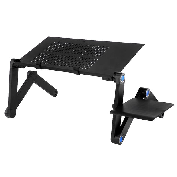 Aluminum Alloy Folding Laptop Desk-Desk Solutions