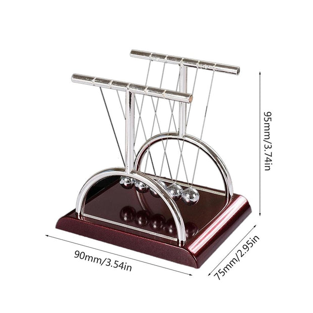 Newton Pendulum Ball Cradle-Desk Solutions