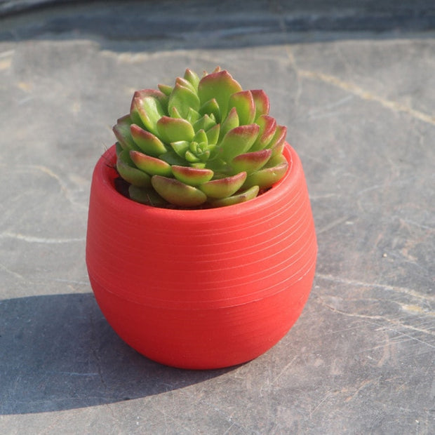 Creative Flower Pot-Desk Solutions