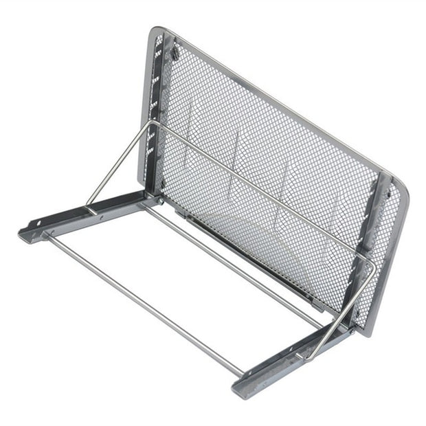 Adjustable Laptop Mesh Stand-Desk Solutions