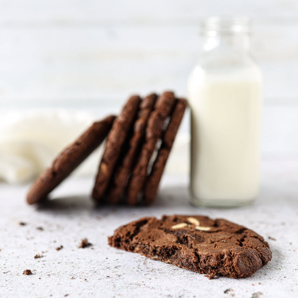 Triple Belgian Chocolate Cookies