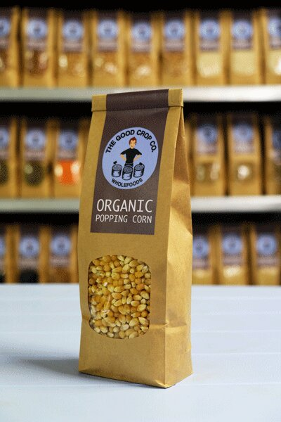 The Good Crop Co Organic Popcorn