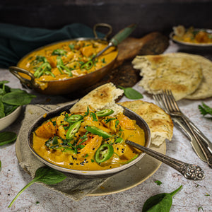 Load image into Gallery viewer, Makhani Gobi Chicken, Spinach & Nigella Seeds