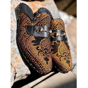 CraftsbyNai Studded half shoes