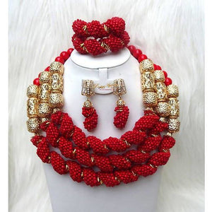 Max-Joy Stone beads (red) and accesories