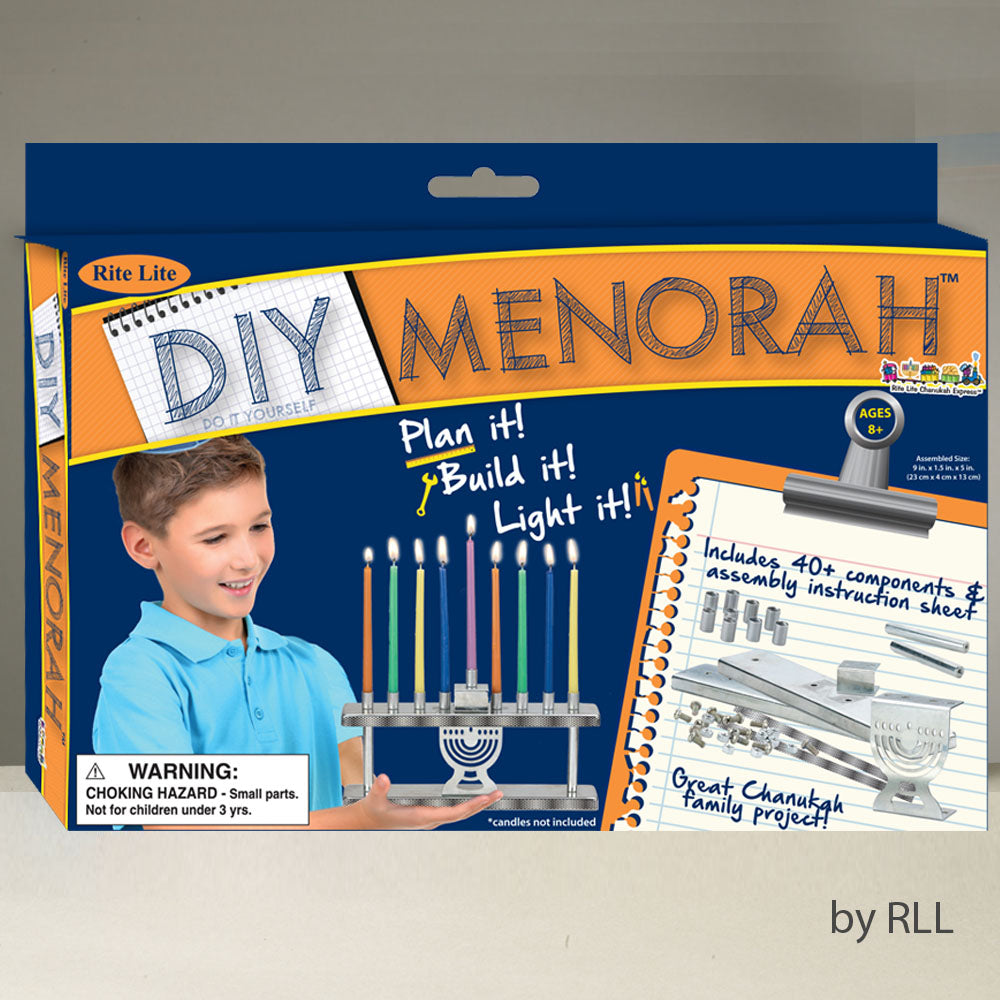 Do It Yourself Menorah craft kit