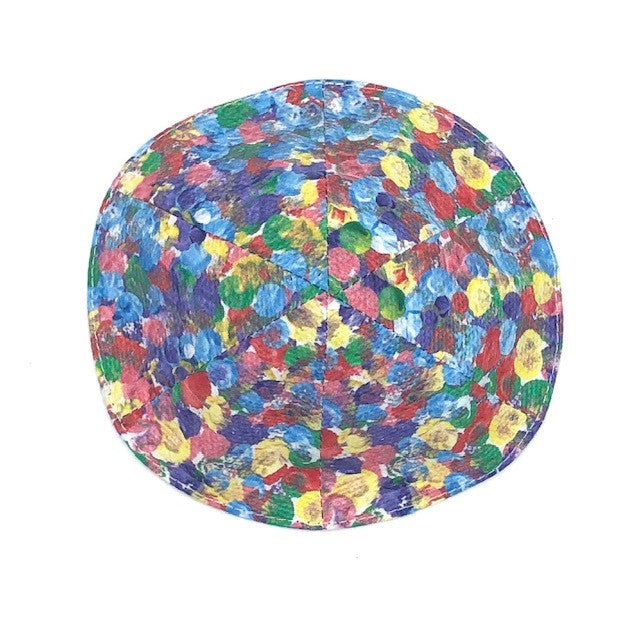 Kippah with multi colored dots