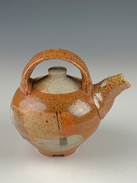 Salt Fired Teapot
