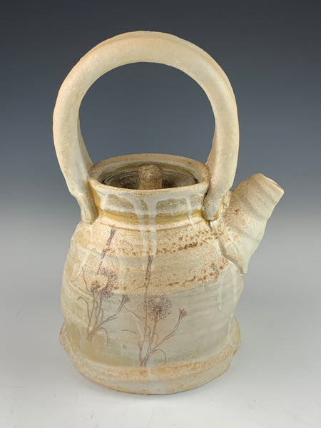 Wood and Soda Fired Teapot