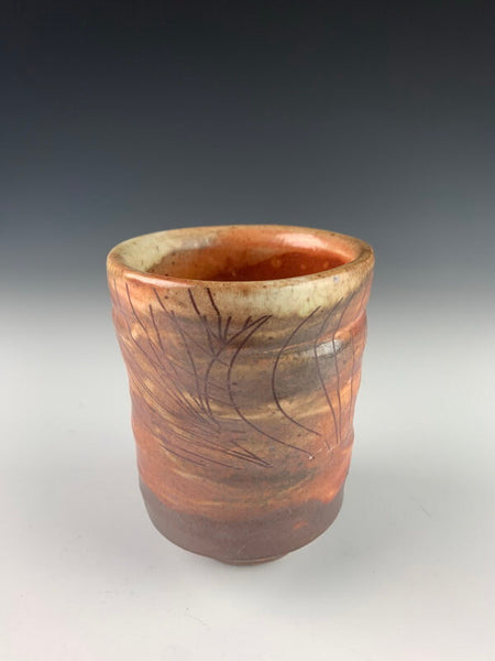 Wood Fired Cup - With Decal