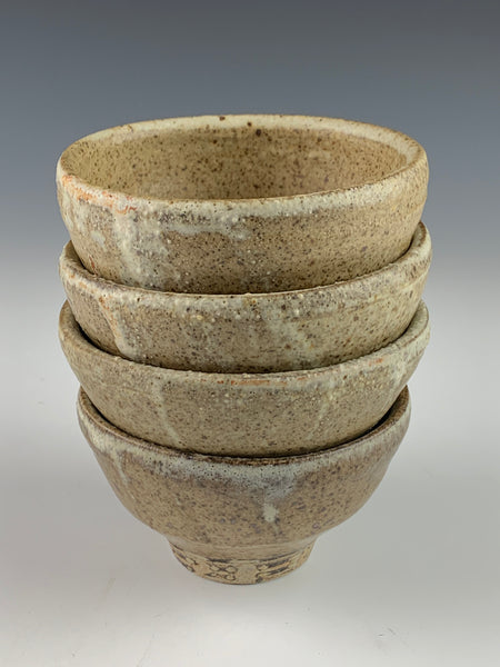 Small Stoneware Bowls - grey matte glaze finish -part of the 50% off sale