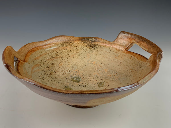 Wood Fired Serving Bowl w/ handles - Part of the 50% off sale