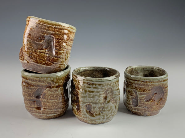 Salt Fired Cups - part of the 50% off sale