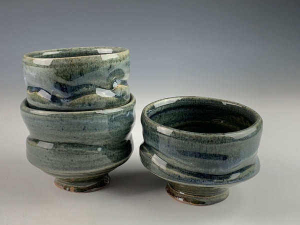 Salt Fired Cups / Bowls - part of the 50% off sale