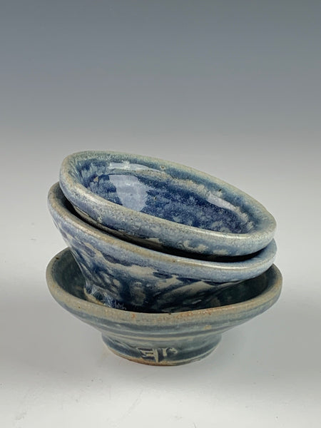 Small Salt Fired Bowls - Part of the 50% off sale