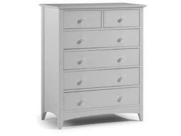 Cameo 4+2 Drawer Chest Grey