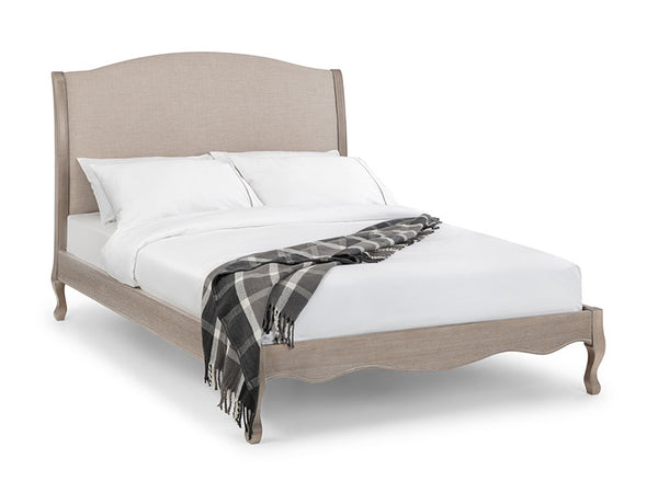 Camille Wood & Fabric Bed 135cm
